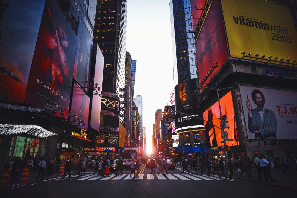 new york bezienswaardigheden times square